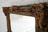 A 19th Century papier mache framed mirror