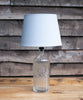 "A ""Sangs LTD"" vintage soda siphon bottle table lamp"