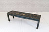 An Oriental lacquered coffee table