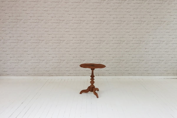 An antique Javanese side table