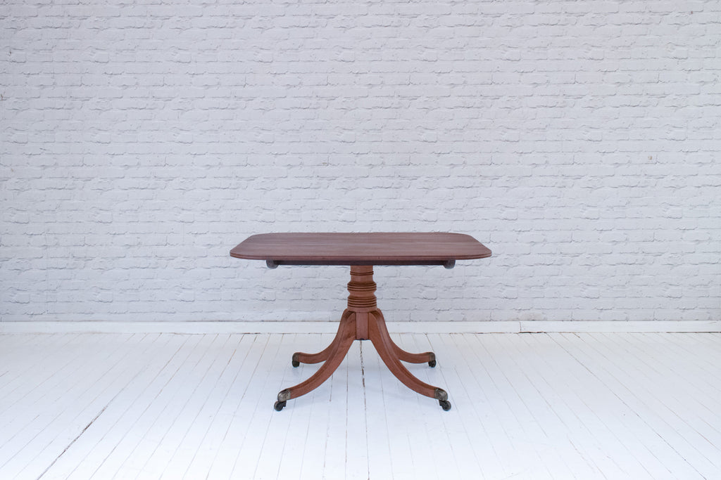 A Regency mahogany breakfast table