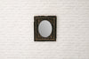 A Victorian gesso mirror with original glass