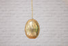 Hand made solid brass egg lamp shades