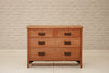 An early 20th century satinwood chest of drawers