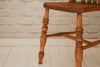 Five stripped pine Victorian kitchen chairs