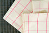 The Barabara tea towel (Pink)