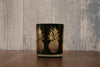 Black/Gold Pineapple T-Light Holder
