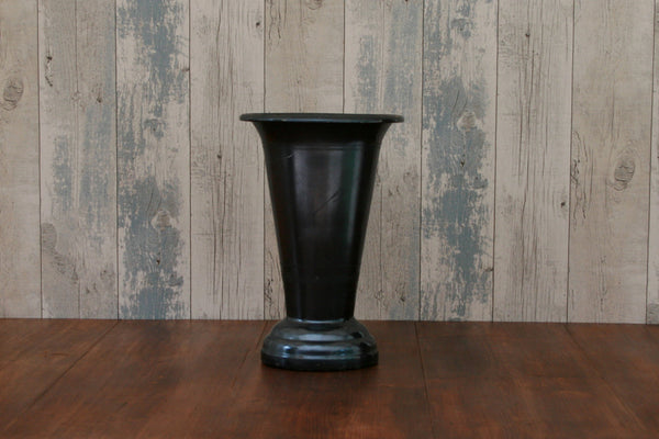 Vintage French Metal Flower Vase
