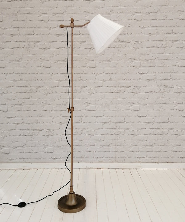 Brass Finish Floor Lamp