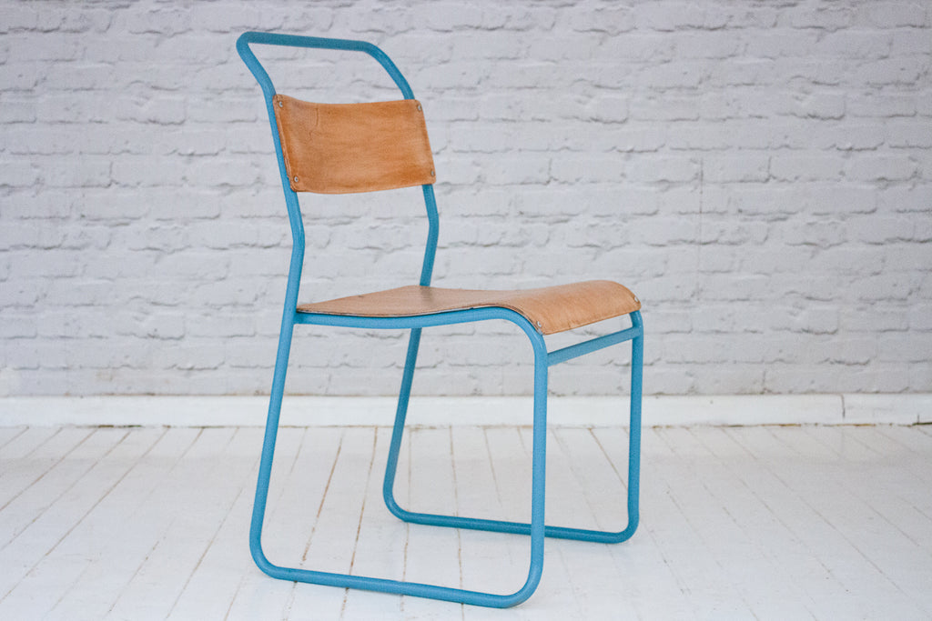 Fabulously restored vintage school chairs