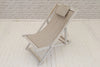 Classic Deck chair with Plain Fabric