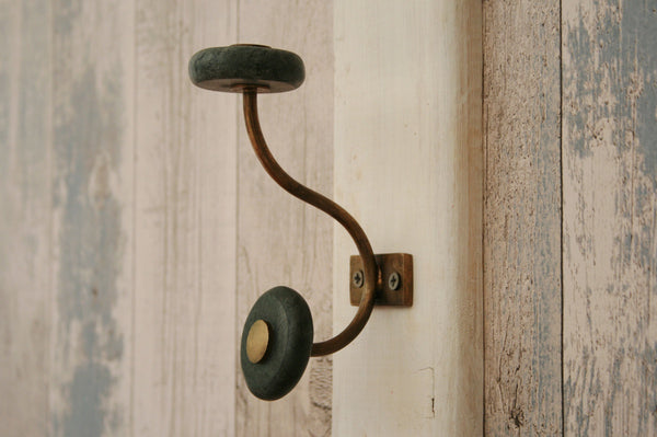 Naak Marble hook green