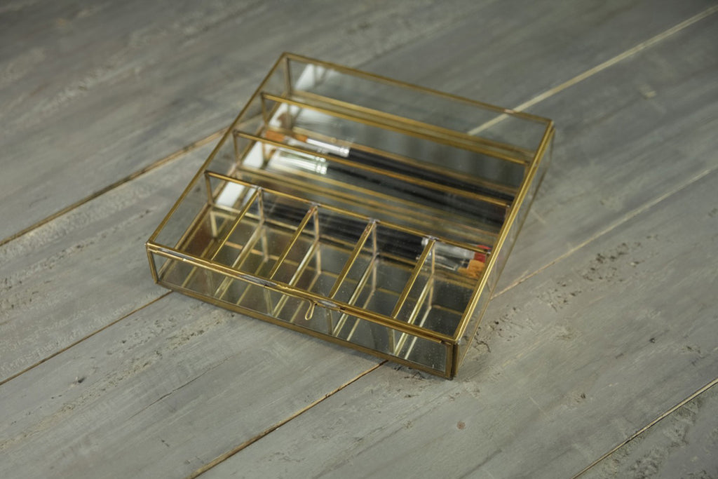 Bequai Collection Box - Antique Brass
