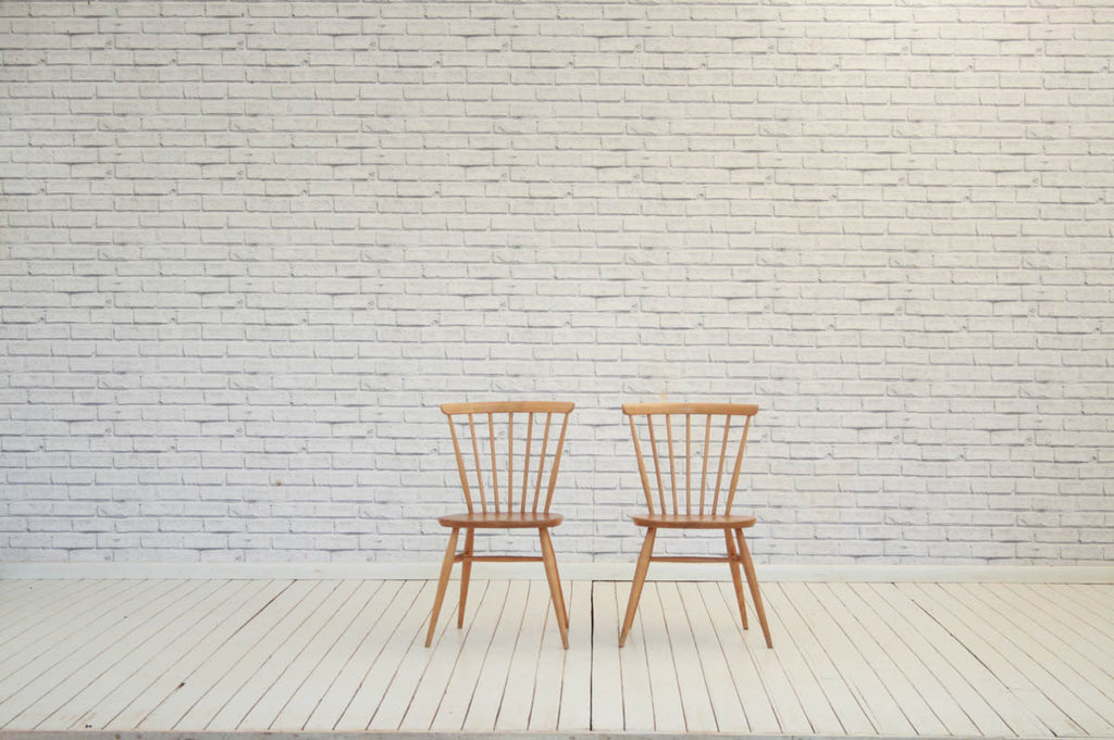 A pair of 1960's Ercol kitchen/dining chairs