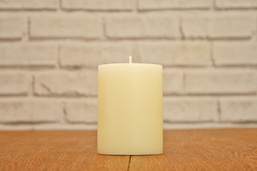 Pillar Candle 75 by 100 Cream