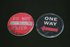 Set Of 4 Road Sign Coasters