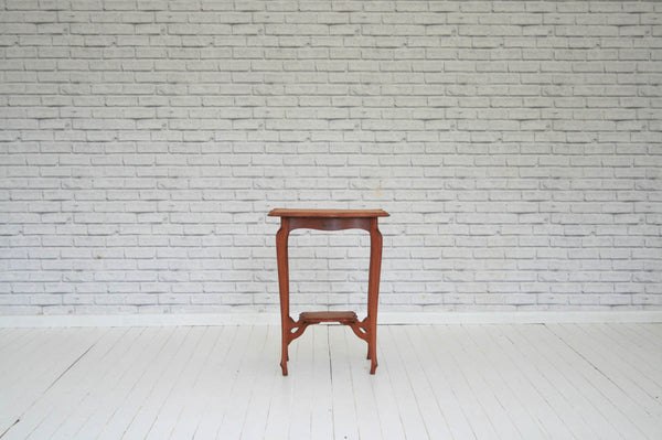 Edwardian mahogany two tier table/Side table