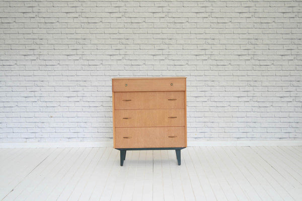 A 1960's vintage chest of drawers