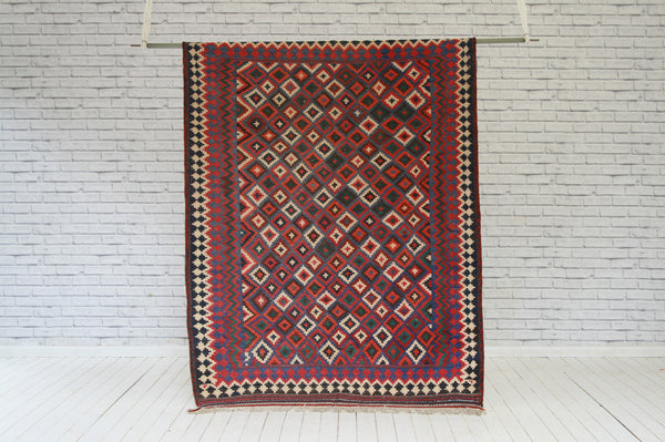 A Shiraz Design Kelim Carpet