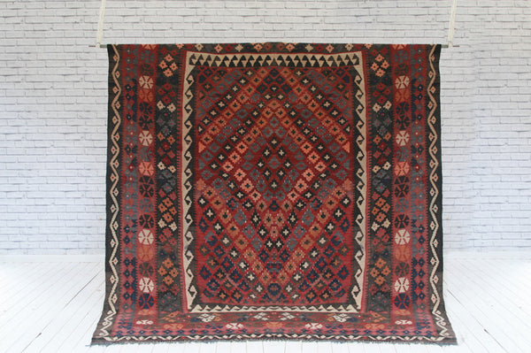 Afghan kelim in Maimana patterns / Rug