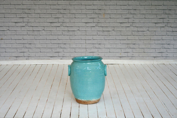 Pale Turquoise Urn