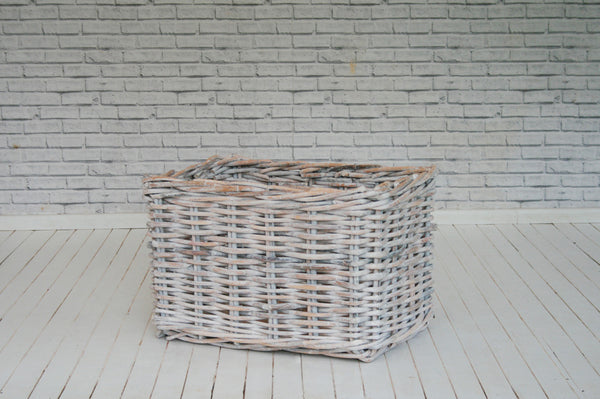 Large Rectangular Rattan Baskets