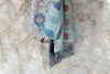 Vintage Kantha Throw - Blues