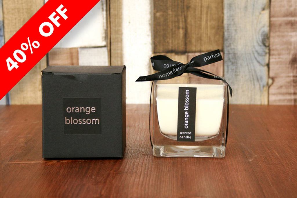 Orange Blossom Candle in Glass