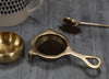 Antique Brass Tea Strainer