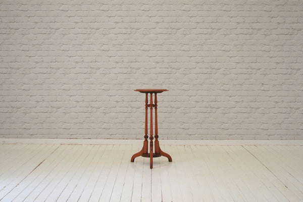 A 19th Century mahogany shaving stand base / occasional table