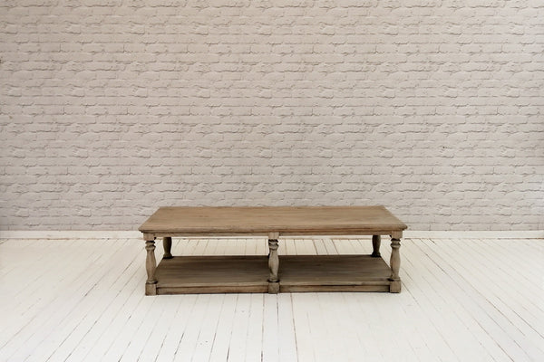 Colonial Reclaimed pine coffee table
