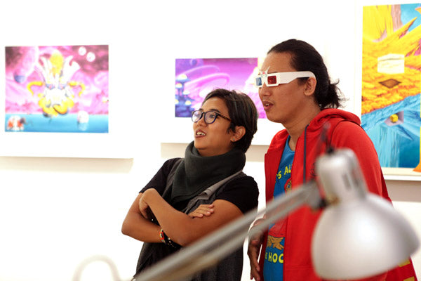 Sathar Vol.1: Past Riandy Karuniawan Solo Exhibition