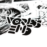 WORLD'S END STICKER PACK