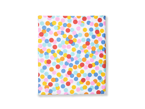 Confetti fitted sheet