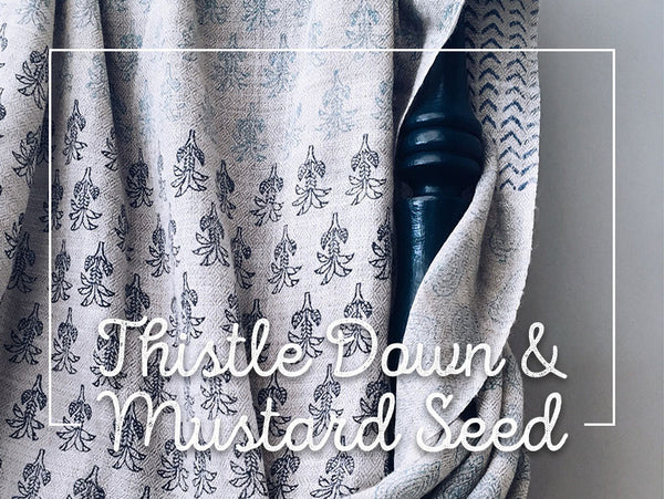 Thistle Down & Mustard Seed