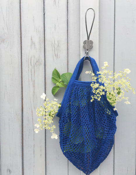 Cotton String bag - Indigo