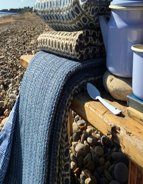 Kaarna Blanket - Nautical Blue