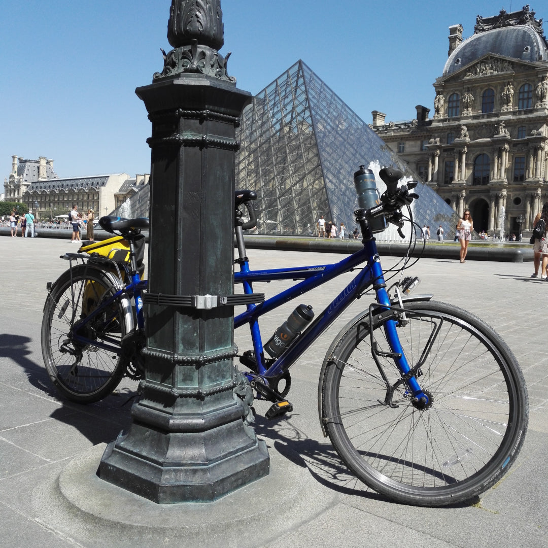 A Tandem bike ride from London to Paris