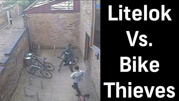Litelok vs bike thieves - Caught on camera! Watch now.
