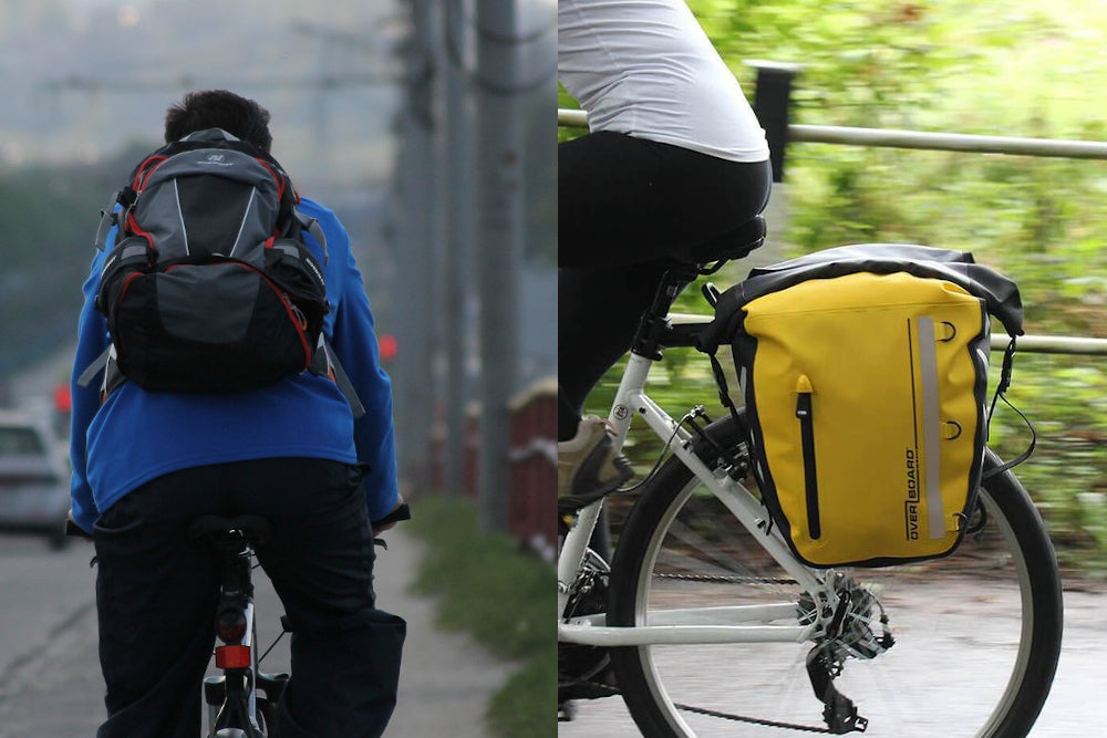 Pannier vs Backpack: Which is better for cyclists?