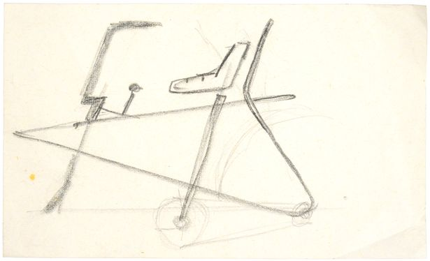 Alan Oakley's initial design for the Raleigh Chopper