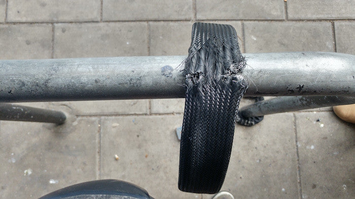 Litelok bike lock survives