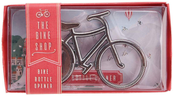 The Bike Shop Silver Bicycle Bottle Opener