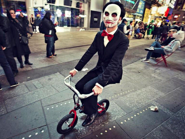 Jigsaw from saw fancy dress costume