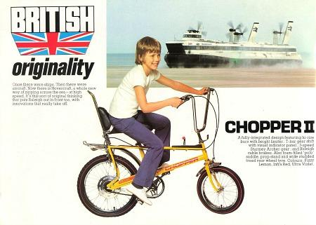 Raleigh Chopper MK2 Advert.