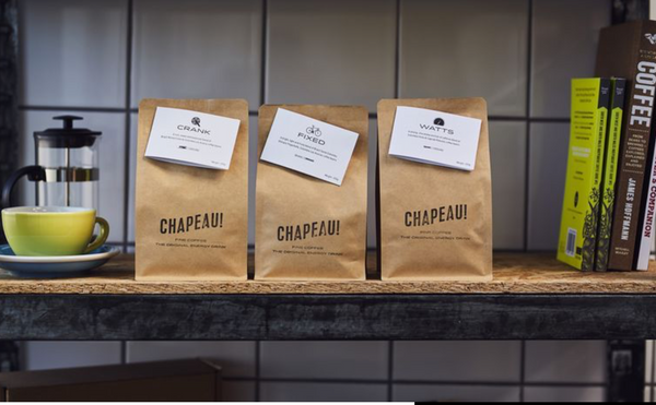 Chapeau Coffee Range - Gifts for Cyclists