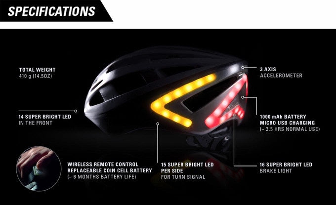 Lumos Helmet - Cool Bike Accessories