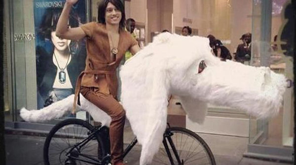 the never ending story costume - 	Atreyu and Falkor costumes