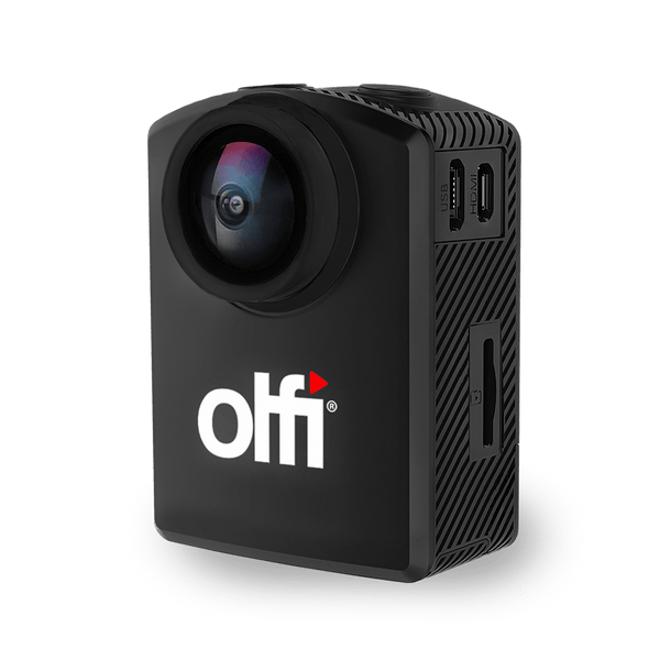Olfi One.Five Black Action Camera - Gifts for cyclists