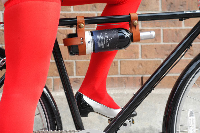 Bicycle Wine Rack - Cool bike accessories